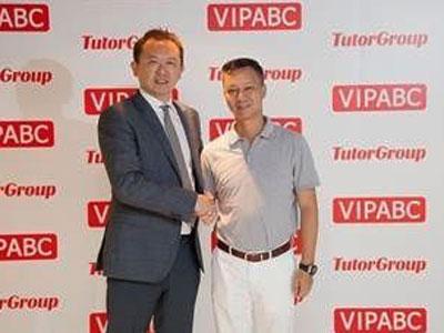 阿里巴巴CEO陆兆禧访TutorGroup 将共同开发在线教室