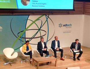 """2015年欧洲教育科技峰会:在线学习强调""""人性互动"""""""
