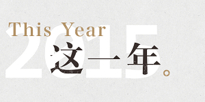 特别版:2015这一年