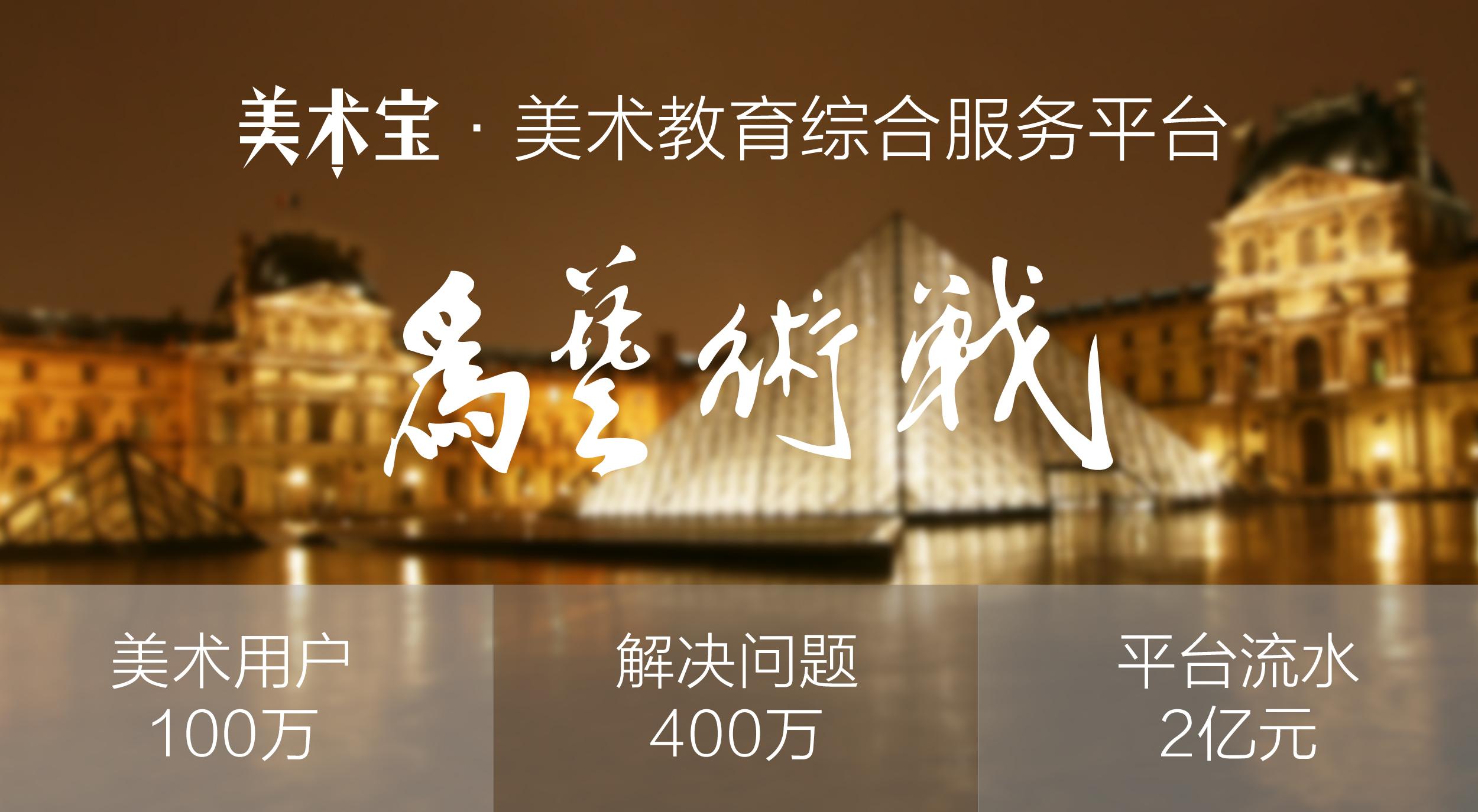 """美术宝获6600万元B轮投资,将上线电商平台""""美宝商城"""""""
