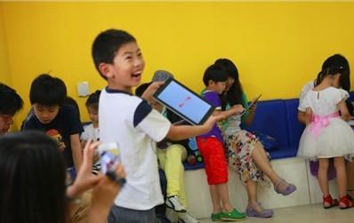 摩比思维馆iPad教学 平板成早教标配?