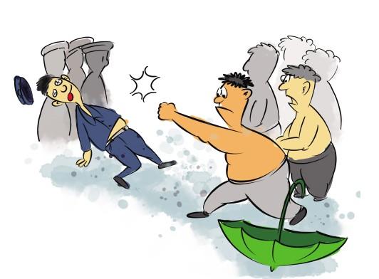 又见机构争生源大打出手 杭州两机构各伤三人