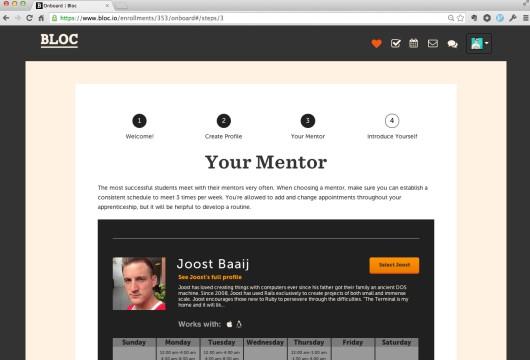 一对一在线编程网站Bloc融资200万美元