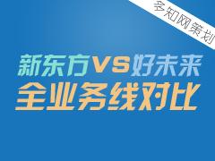 【特别策划】新东方好未来全业务线对比